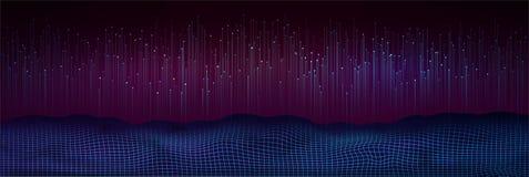 Grande visualizzazione di dati Priorità bassa digitale astratta royalty illustrazione gratis