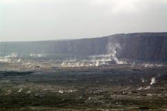 grande volacano dell'isola dell'Hawai fotografia stock libera da diritti
