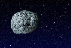 Grande asteroide illustrazione di stock