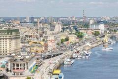 Grande vue à Kiev Images stock