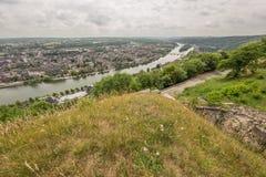 Grande vue de Namur Photographie stock libre de droits