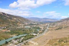 Grande vue en Géorgie Photos libres de droits
