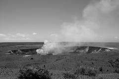 Grande vulcano dell'isola Fotografie Stock Libere da Diritti