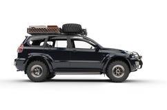 Grande 4WD moderno SUV Fotografia Stock