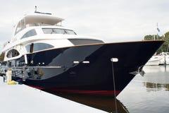 Grande yacht immagini stock