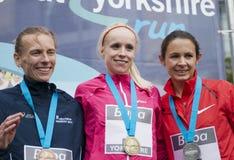 Grande Yorkshire esecuzione 2011 di Buba Immagine Stock