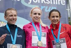Grande Yorkshire funcionamento 2011 de Buba Imagem de Stock