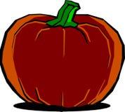 Grande zucca di Halloween Immagine Stock