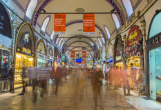 Grandee Bazare in Istanbul Stock Photos