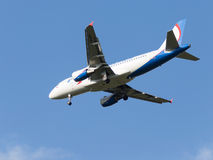 Grandes airbas A319 Ural Airlines Fotografia de Stock