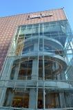 Grandes almacenes de lujo de la especialidad de Neiman Marcus American en San Foto de archivo