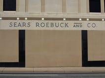 Grandes almacenes de Sears Foto de archivo libre de regalías