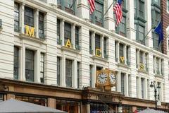 Grandes almacenes del ` s de Macy, NYC Fotos de archivo