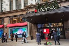 Grandes almacenes NYC de Macys Foto de archivo libre de regalías