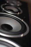 Grandes altavoces ruidosos. foto de archivo libre de regalías