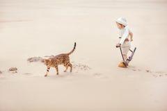 Grandes aventures dans le désert Photos libres de droits