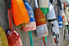 Grandes bobbers da pesca Imagem de Stock