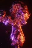 Grandes bolhas de ar sparkling Imagens de Stock