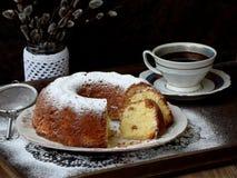 Grandes bolo e galhos do salgueiro Imagem de Stock
