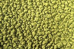 Grandes bosses cannelées jaunes de texture extérieure de résumé photographie stock