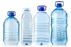 Grandes bouteilles de l'eau Image stock