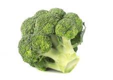 Grandes brócolis isolados Imagem de Stock