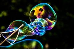 Grandes bulles de savon images libres de droits