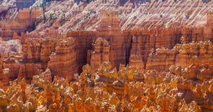Grandes chapiteles tallados lejos por la erosión Fotos de archivo libres de regalías