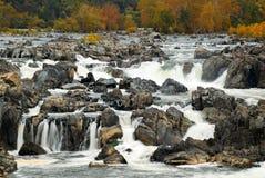 Grandes chutes du Potomac Image libre de droits