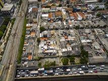 Grandes cidades, grandes avenidas, casas e construções Distrito claro Bairro a Dinamarca Luz, Sao Paulo Brazil, trilho e subw fotos de stock