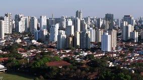 Grandes ciudades en el día, sao Paulo Brazil South America almacen de video
