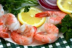 Grandes crevettes Photo libre de droits