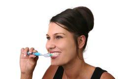 Grandes dentes saudáveis Foto de Stock Royalty Free
