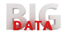 Grandes données Image stock