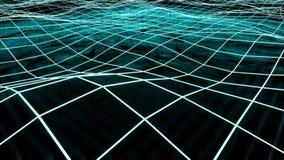 Grandes donn?es et information traversant le cyberespace illustration libre de droits