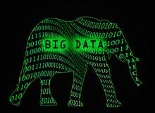 Grandes données Image libre de droits