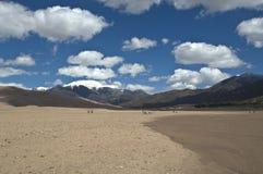 Grandes dunas de areia Fotografia de Stock Royalty Free