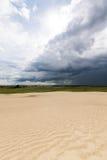 Grandes dunas de areia de Saskatchewan Imagens de Stock