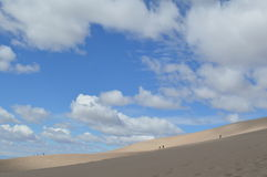 Grandes dunas de areia parque nacional, Colorado Fotografia de Stock
