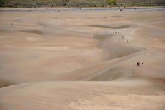 Grandes dunas de arena Foto de archivo