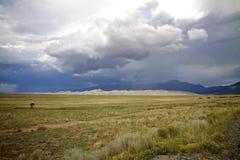 Grandes dunas de arena, New México, los E.E.U.U. Foto de archivo libre de regalías