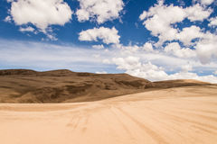Grandes dunes de sable le Colorado Photo stock