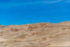 Grandes dunes de sable le Colorado Photo stock