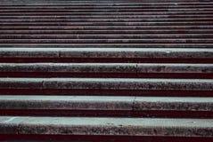 Grandes e escadas largas do monumento imagem de stock