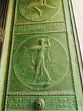 Grandes entrées principales en bronze, banque de Canada, Ottawa photographie stock libre de droits