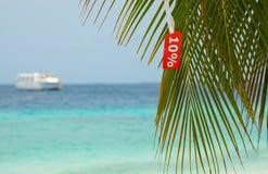 Grandes férias com disconto Fotos de Stock Royalty Free