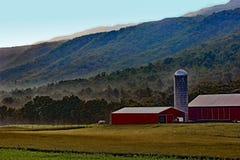 Grandes fermes de vallée Image libre de droits