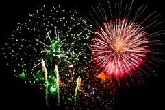 Grandes fogos-de-artifício Foto de Stock