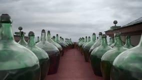 Grandes garrafas do vinho filme