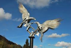 Grandes halcones de Malvern Fotos de archivo libres de regalías